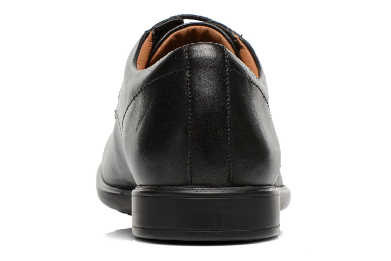 Chaussures à lacets Clarks Gosworth Over Noir vue droite