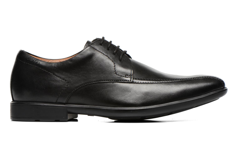 Chaussures à lacets Clarks Gosworth Over Noir vue derrière