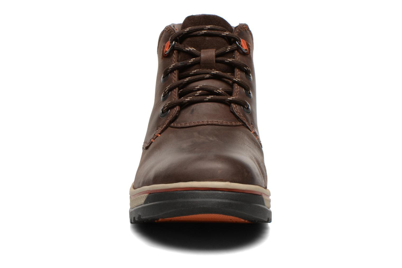 Bottines et boots Clarks Ripway Hill GTX Marron vue portées chaussures