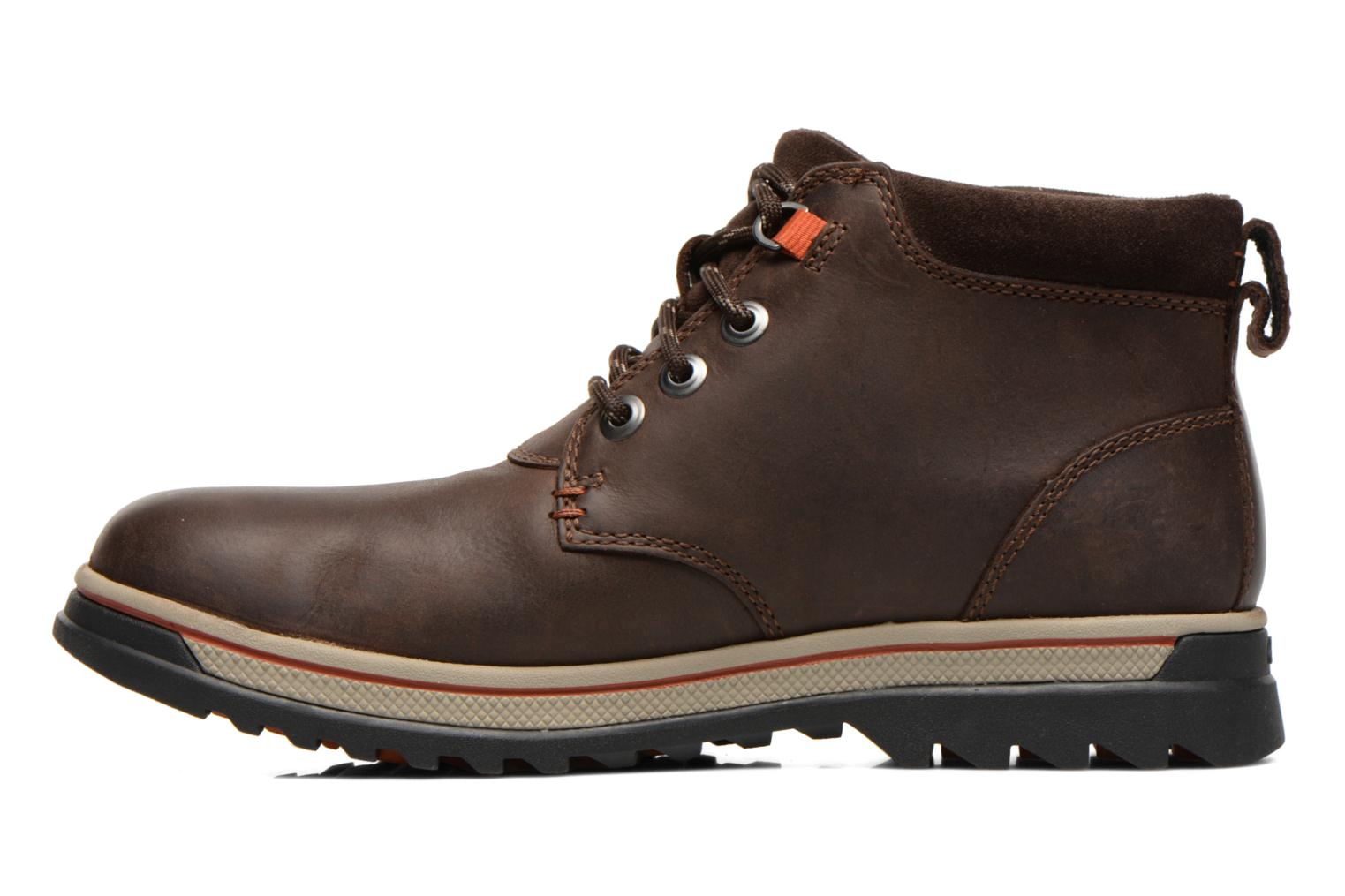 Bottines et boots Clarks Ripway Hill GTX Marron vue face