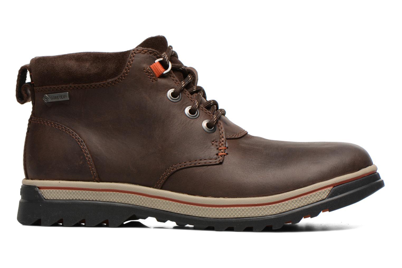 Bottines et boots Clarks Ripway Hill GTX Marron vue derrière