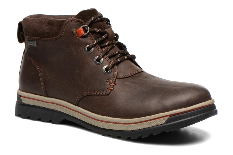 Bottines et boots Clarks Ripway Hill GTX Marron vue détail/paire
