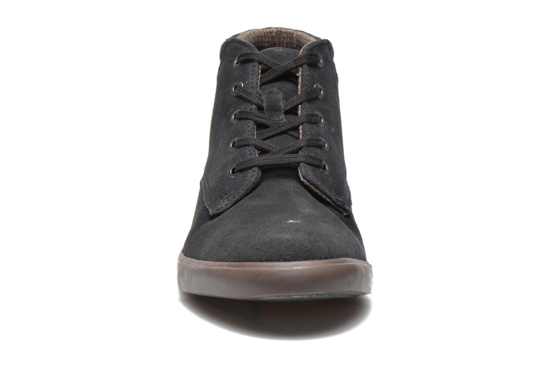 Chaussures à lacets Clarks Torbay Top Noir vue portées chaussures