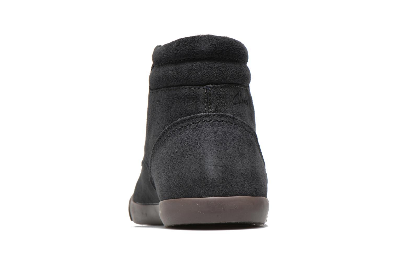 Chaussures à lacets Clarks Torbay Top Noir vue droite
