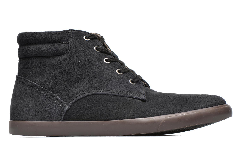 Chaussures à lacets Clarks Torbay Top Noir vue derrière