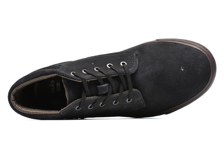 Chaussures à lacets Clarks Torbay Top Noir vue gauche