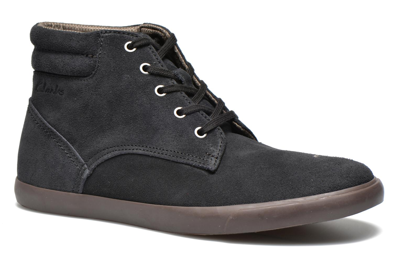 Chaussures à lacets Clarks Torbay Top Noir vue détail/paire