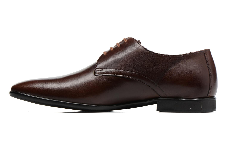 Snörade skor Kenzo Westy Brun bild från framsidan
