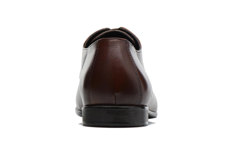 Snörade skor Kenzo Westy Brun Bild från höger sidan