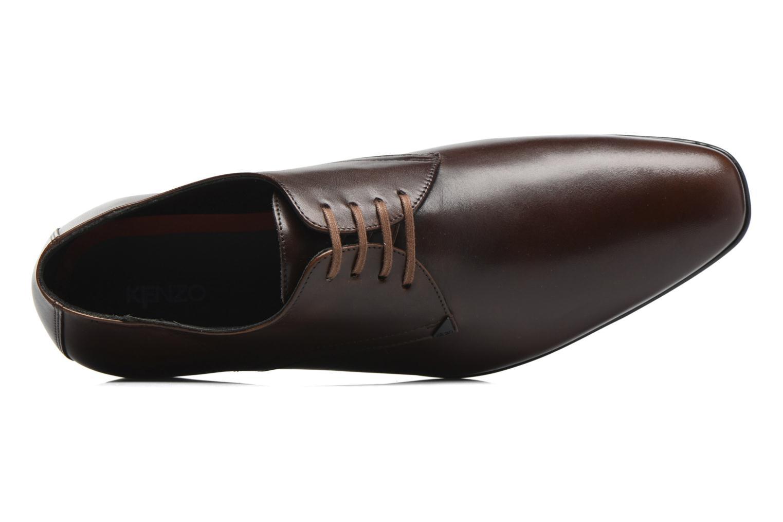 Chaussures à lacets Kenzo Westy Marron vue gauche