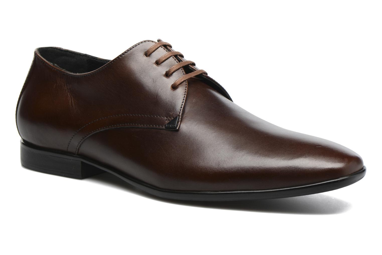 Chaussures à lacets Kenzo Westy Marron vue détail/paire