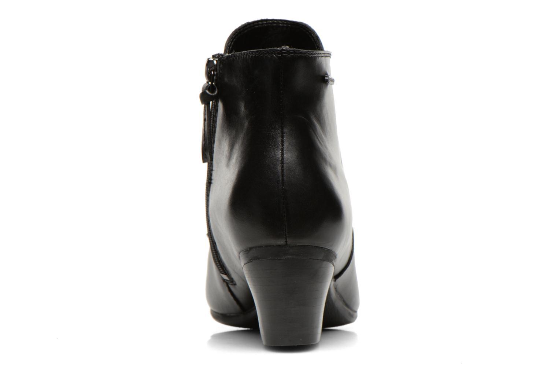 Melanie Su GTX Black leather