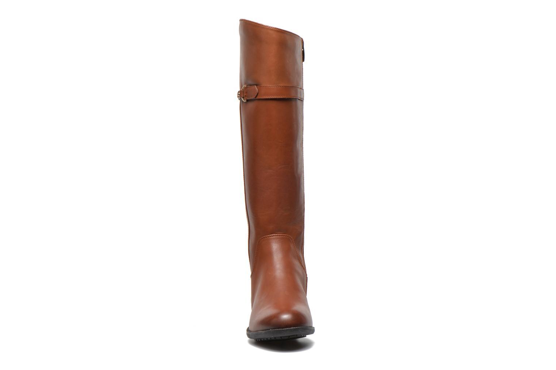 Bottes Clarks Mint Aqua GTX Marron vue portées chaussures