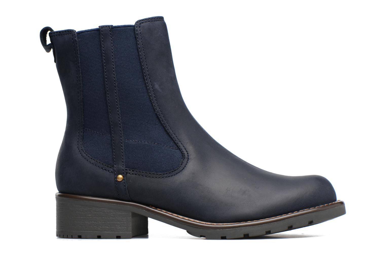 Bottines et boots Clarks Orinoco Club Bleu vue derrière