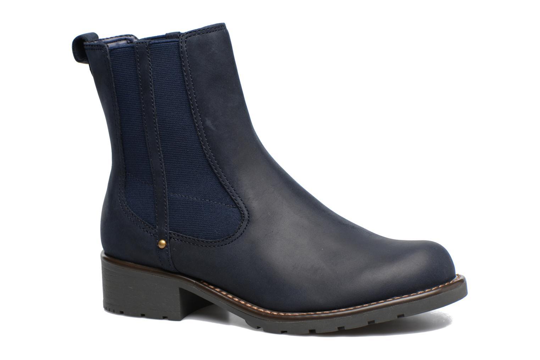 Ankelstøvler Clarks Orinoco Club Blå detaljeret billede af skoene
