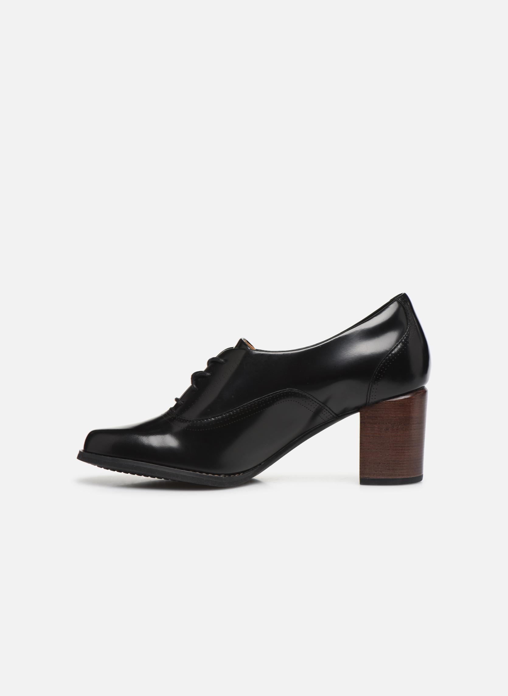 Chaussures à lacets Clarks Tarah Victoria Noir vue face