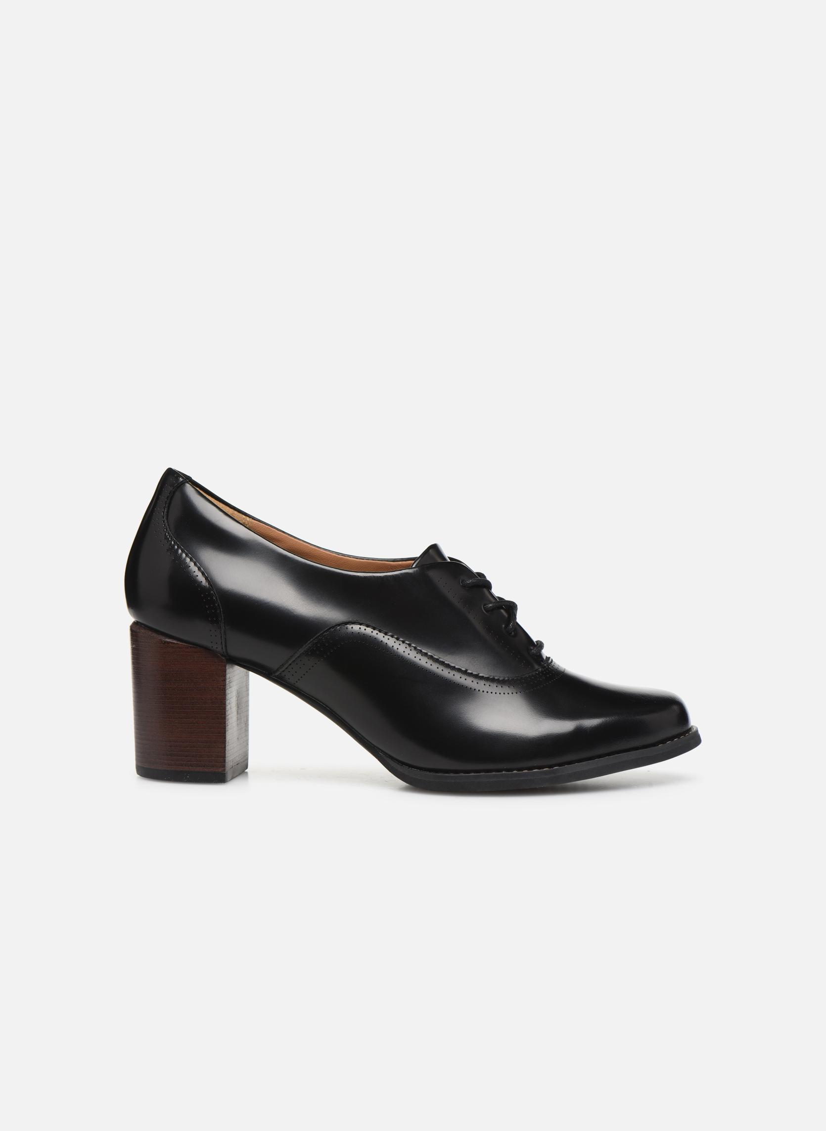 Chaussures à lacets Clarks Tarah Victoria Noir vue derrière