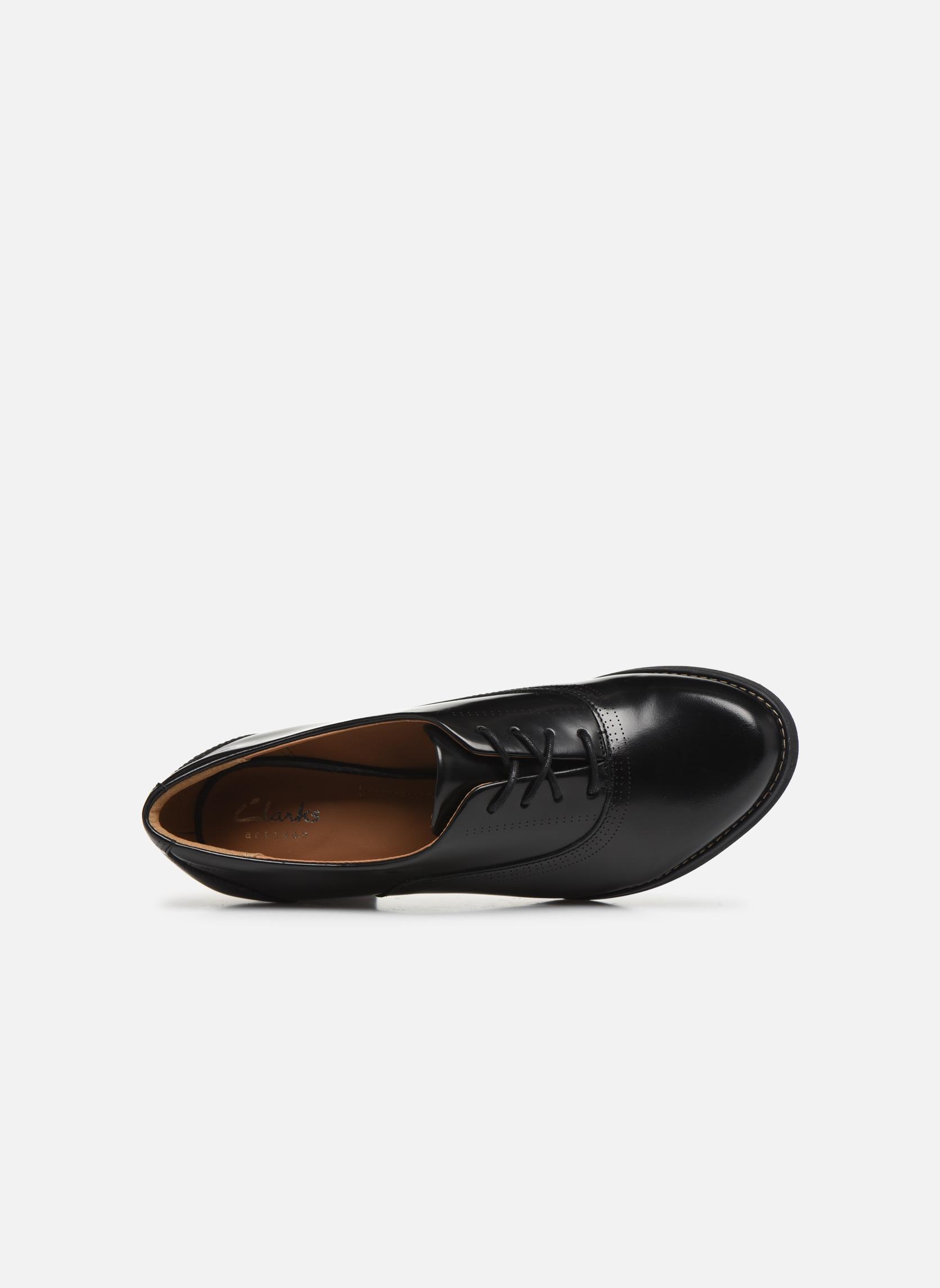 Chaussures à lacets Clarks Tarah Victoria Noir vue gauche