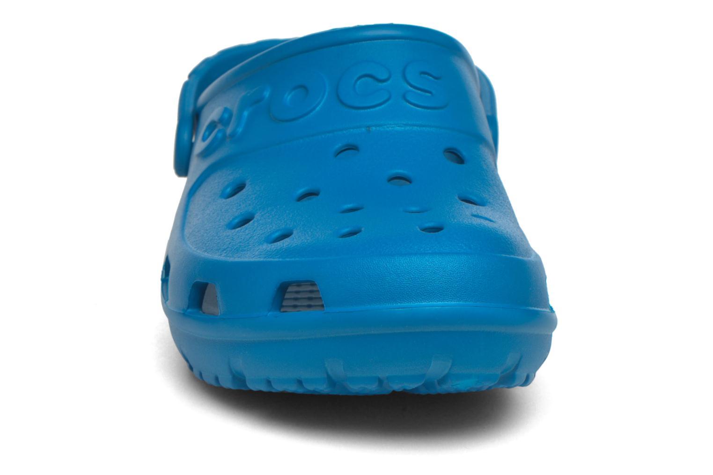 Sandales et nu-pieds Crocs Crocs Hilo Clog Bleu vue portées chaussures