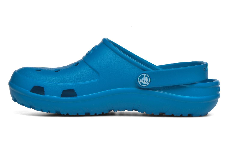 Sandales et nu-pieds Crocs Crocs Hilo Clog Bleu vue face