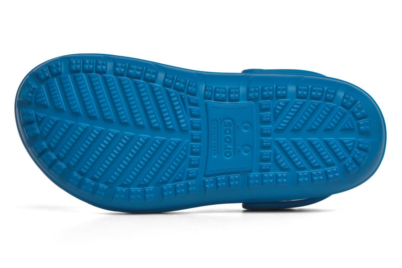 Sandales et nu-pieds Crocs Crocs Hilo Clog Bleu vue haut