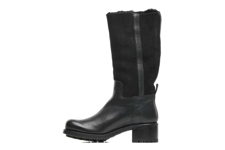 Boots en enkellaarsjes Free Lance Corsa 4 Mid Botte Zwart voorkant