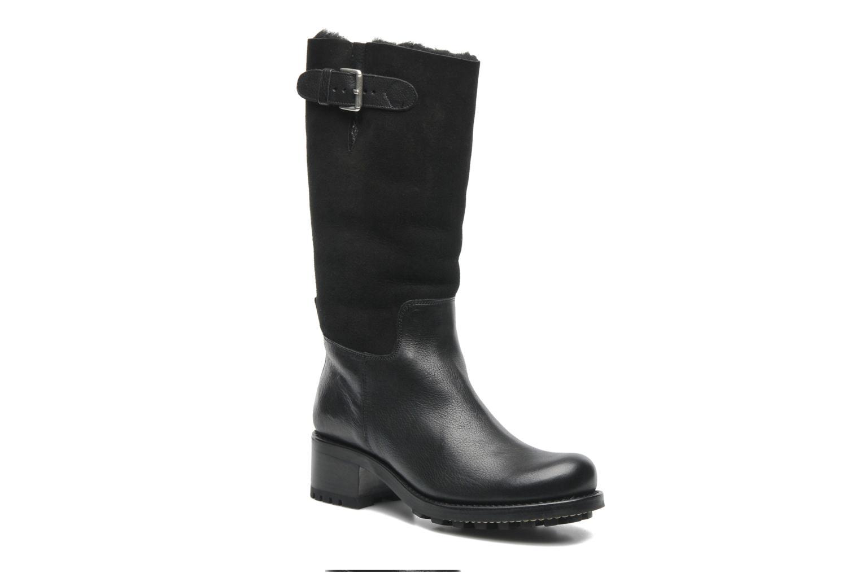 Boots en enkellaarsjes Free Lance Corsa 4 Mid Botte Zwart detail