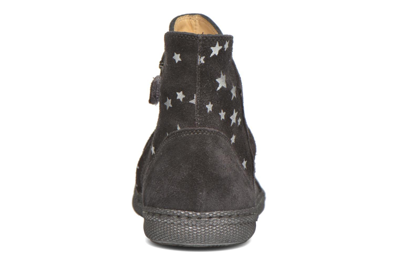 Bottines et boots Pom d Api New school pleats golden Noir vue droite