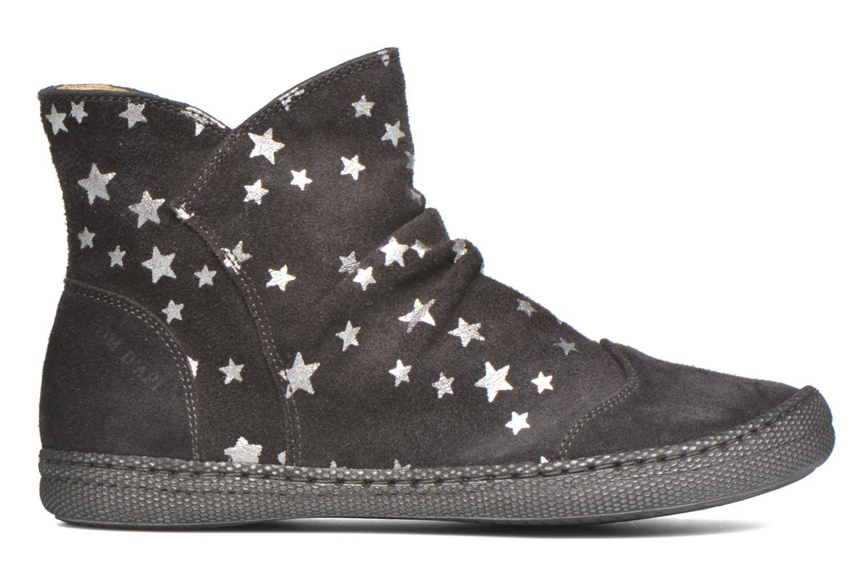 Boots en enkellaarsjes Pom d Api New school pleats golden Zwart achterkant