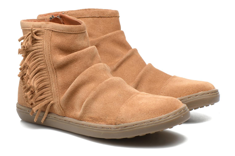 Bottines et boots Shwik FALL BOOTS FRINGE Marron vue 3/4