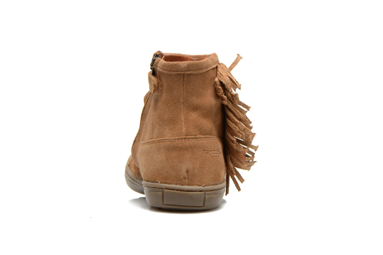 Bottines et boots Shwik FALL BOOTS FRINGE Marron vue droite