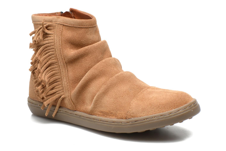 Bottines et boots Shwik FALL BOOTS FRINGE Marron vue détail/paire