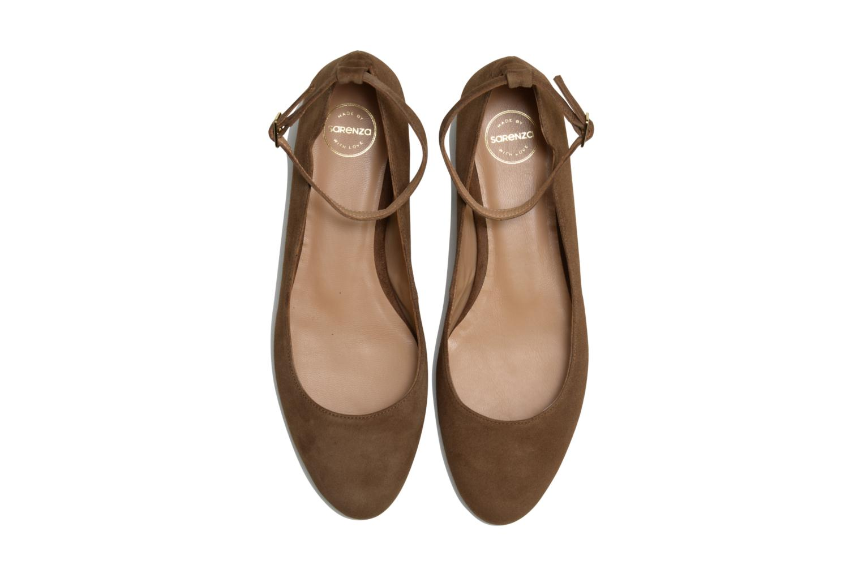 Ballerines Made by SARENZA Café With Colette #4 Marron vue portées chaussures
