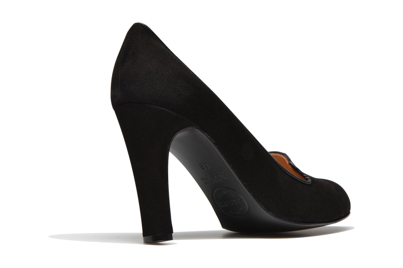High heels Made by SARENZA Be My Bakery #3 Black front view
