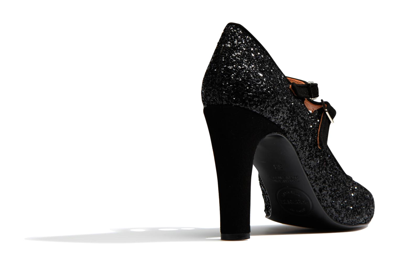 High heels Made by SARENZA Flore Thirties #8 Black front view