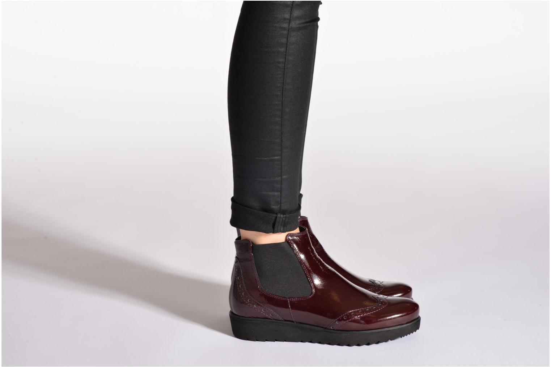 Bottines et boots Ara Malmo Noir vue bas / vue portée sac