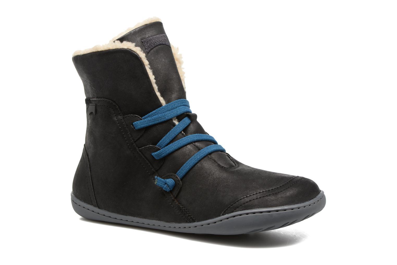 45 1/3 EU  avec une touche métallique - Bleu - bleu Bottines et boots Camper Peu Cami 46477 pour Femme  Chaussures de Running Mixte Adulte OPP Chaussures de Ville à Lacets Pour Homme - Noir - Noir 7tBW7