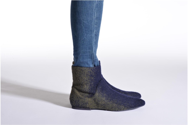Bottines et boots Camper Isadora K400027 Bleu vue bas / vue portée sac