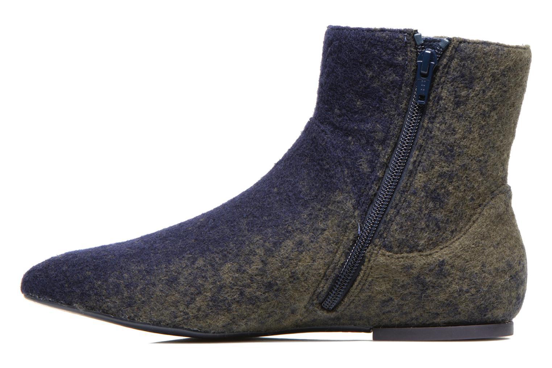 Bottines et boots Camper Isadora K400027 Bleu vue face