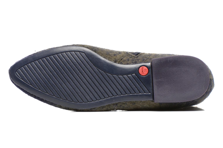 Bottines et boots Camper Isadora K400027 Bleu vue haut