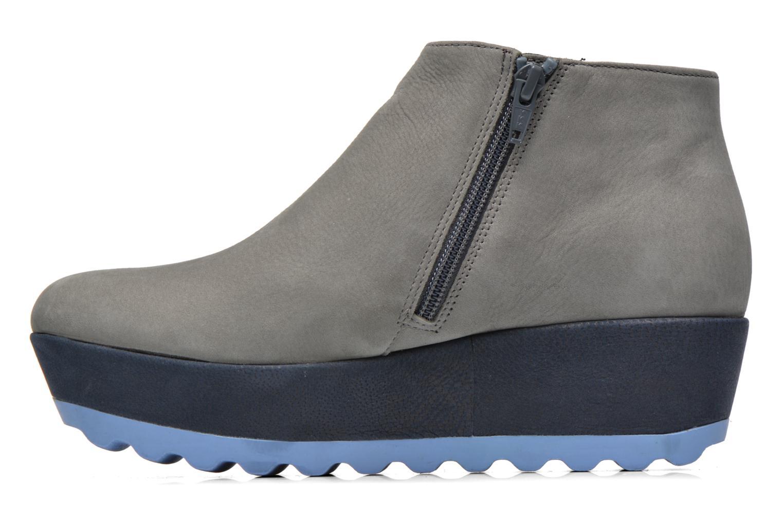 Stiefeletten & Boots Camper Laika K400036 grau ansicht von vorne