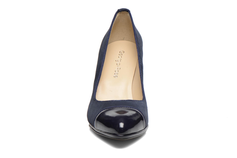 Escarpins Georgia Rose Savabou Bleu vue portées chaussures