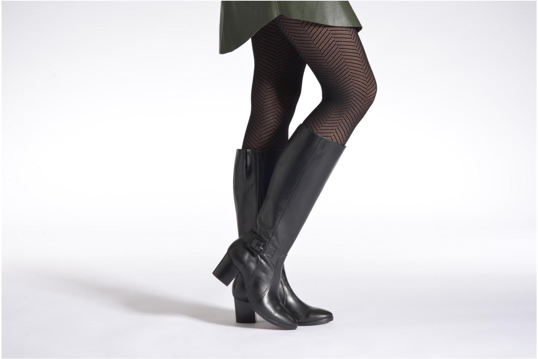 Stiefel Georgia Rose Semiena schwarz ansicht von unten / tasche getragen