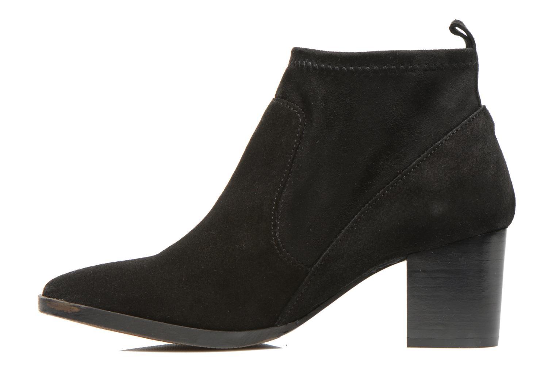 Bottines et boots Georgia Rose Semidris Noir vue face