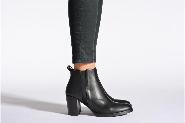 Bottines et boots Georgia Rose Semisso Marron vue bas / vue portée sac