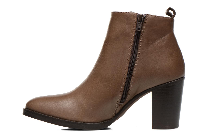 Bottines et boots Georgia Rose Semisso Marron vue face