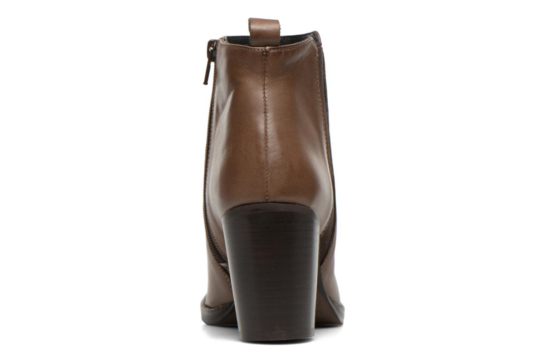Bottines et boots Georgia Rose Semisso Marron vue droite