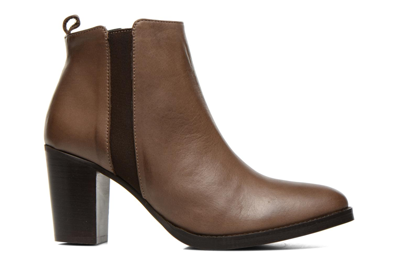 Bottines et boots Georgia Rose Semisso Marron vue derrière