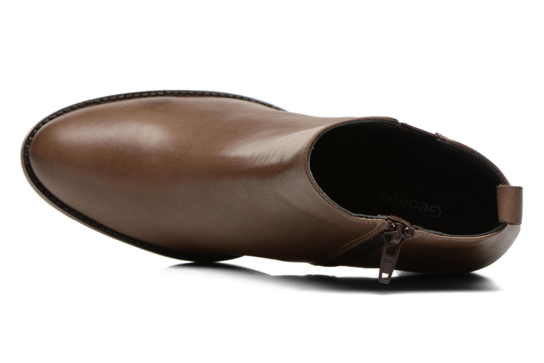 Bottines et boots Georgia Rose Semisso Marron vue gauche