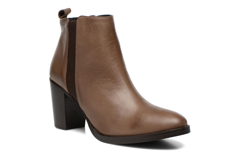 Bottines et boots Georgia Rose Semisso Marron vue détail/paire